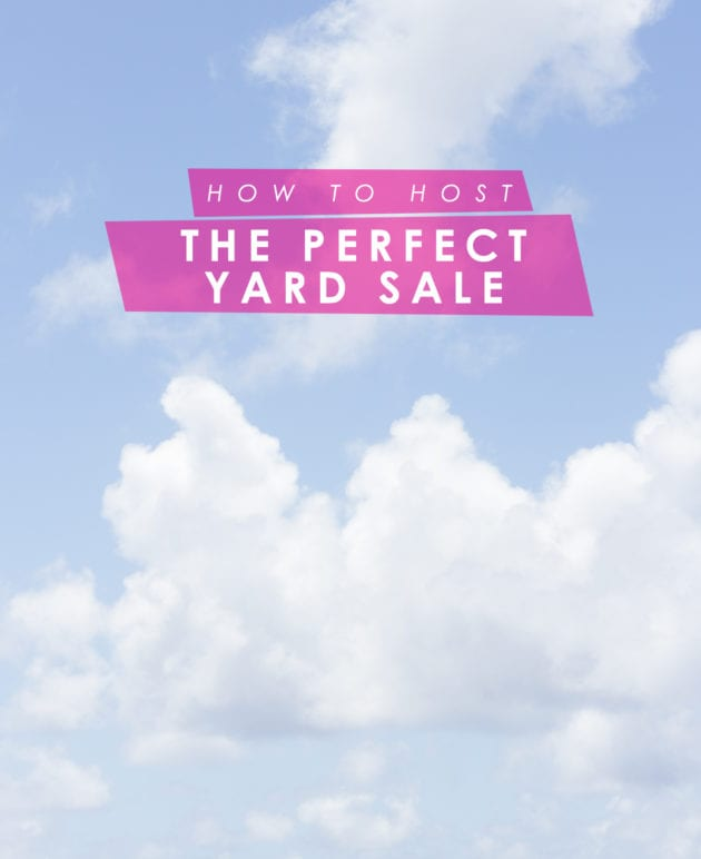 How to Host a Perfect Yard Sale thumbnail