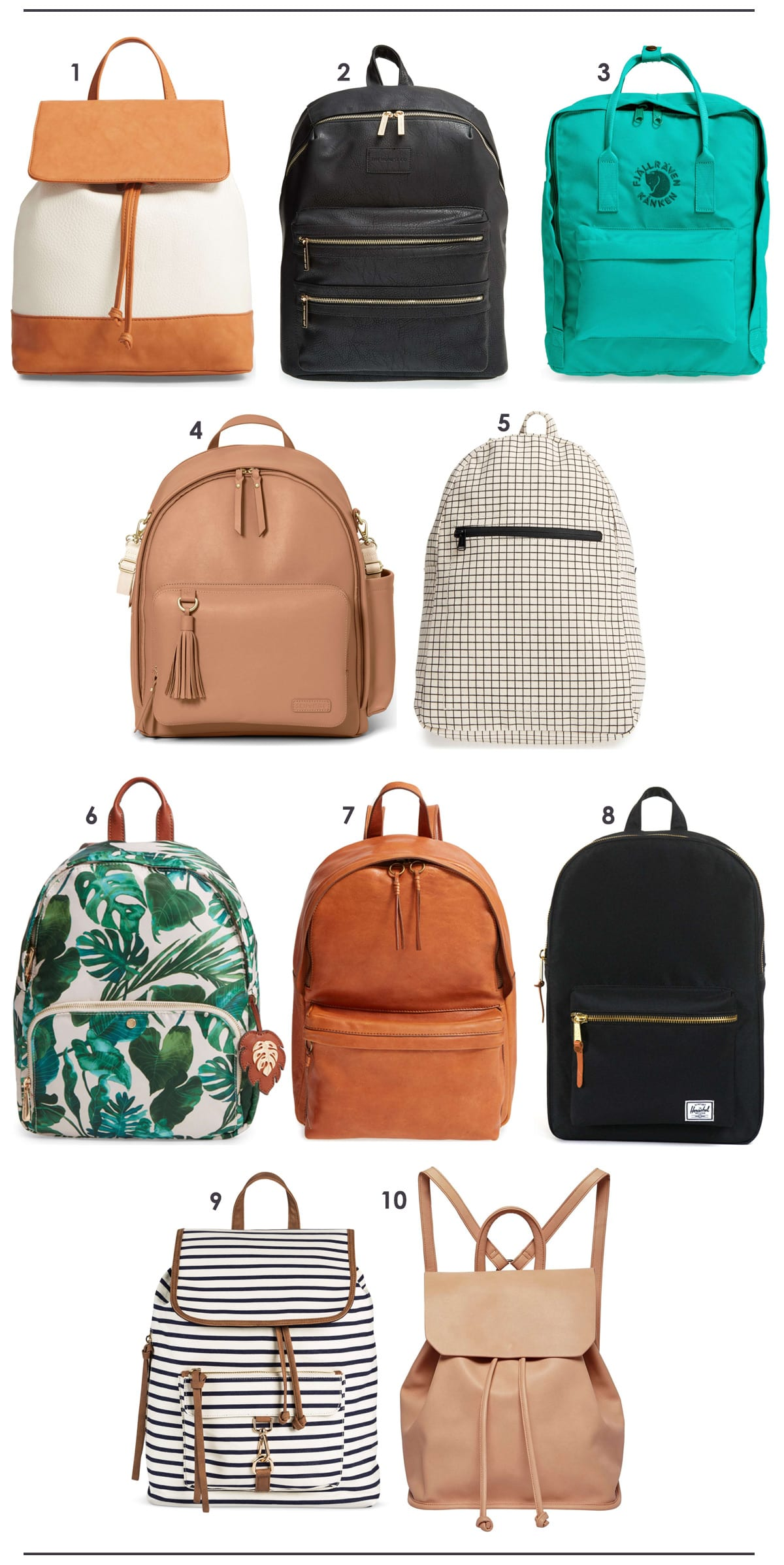 The Best Purse and Diaper Bag Backpacks | Lovely Indeed
