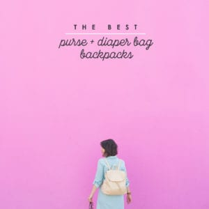 The Best Purse and Diaper Bag Backpacks thumbnail