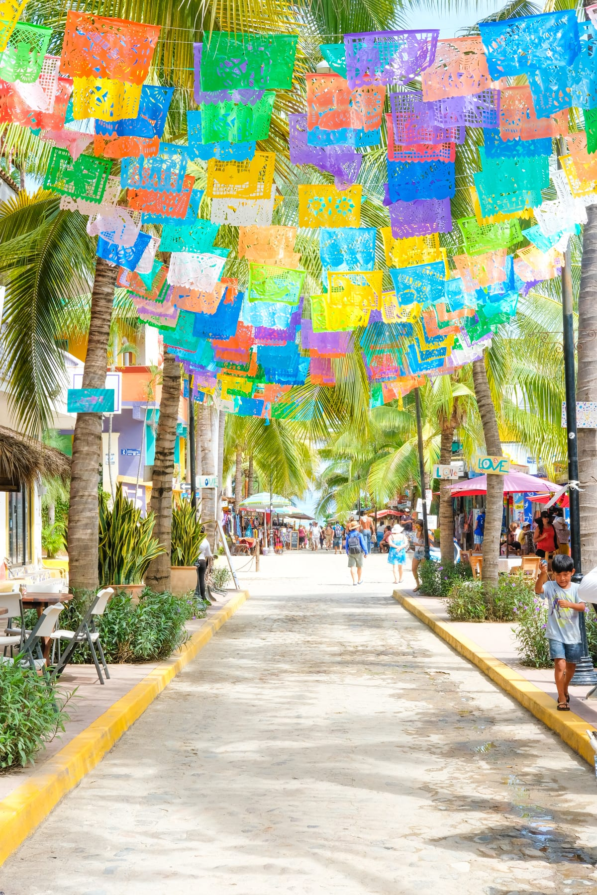 Sayulita Papel Picado Flags
