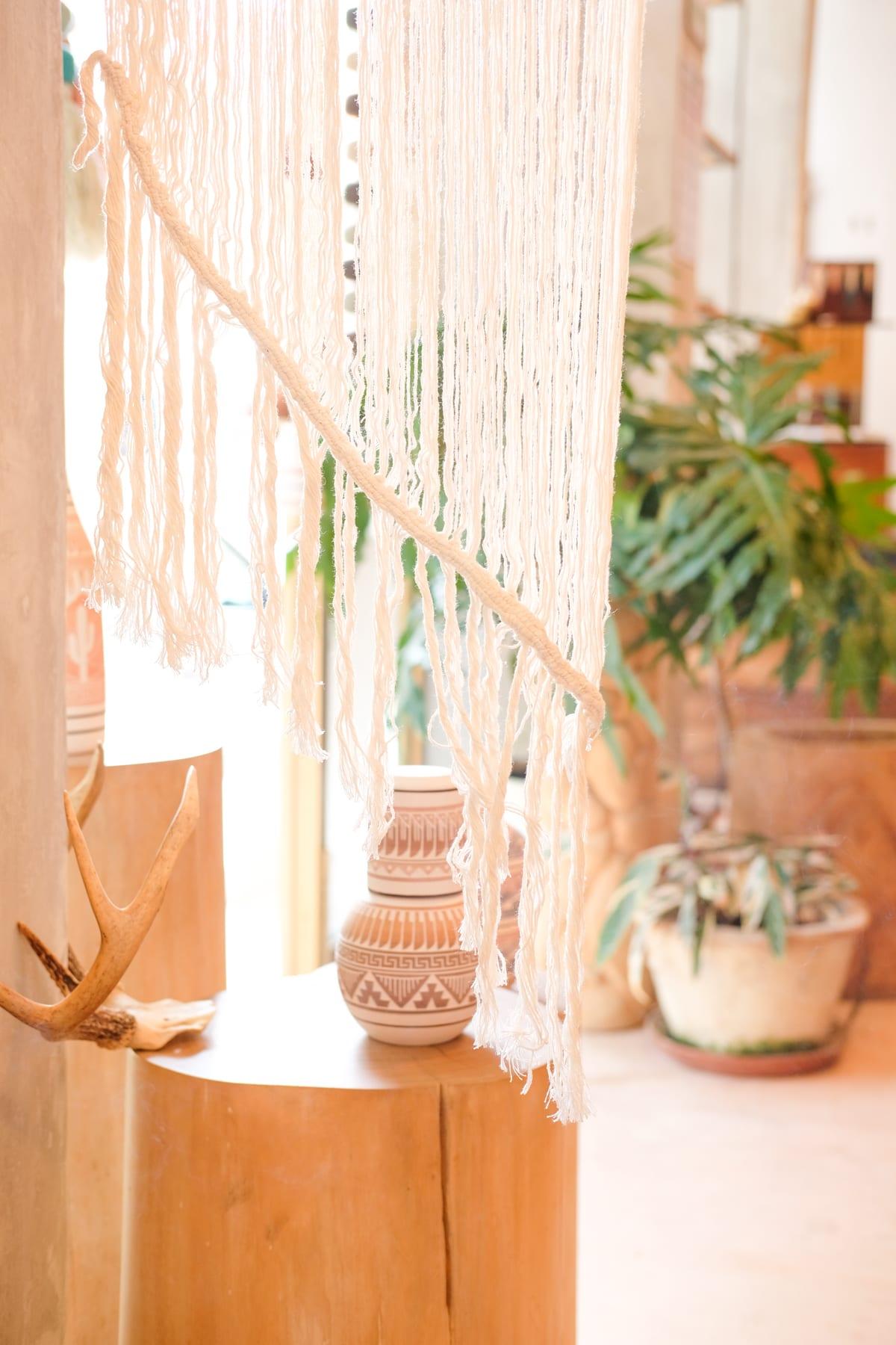 Sayulita Woven Hanging
