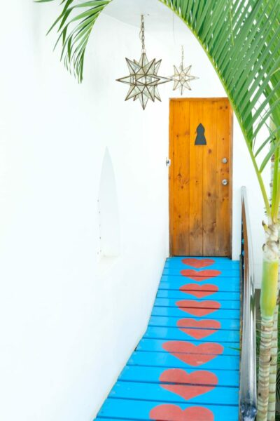 Sayulita Heart Walkway
