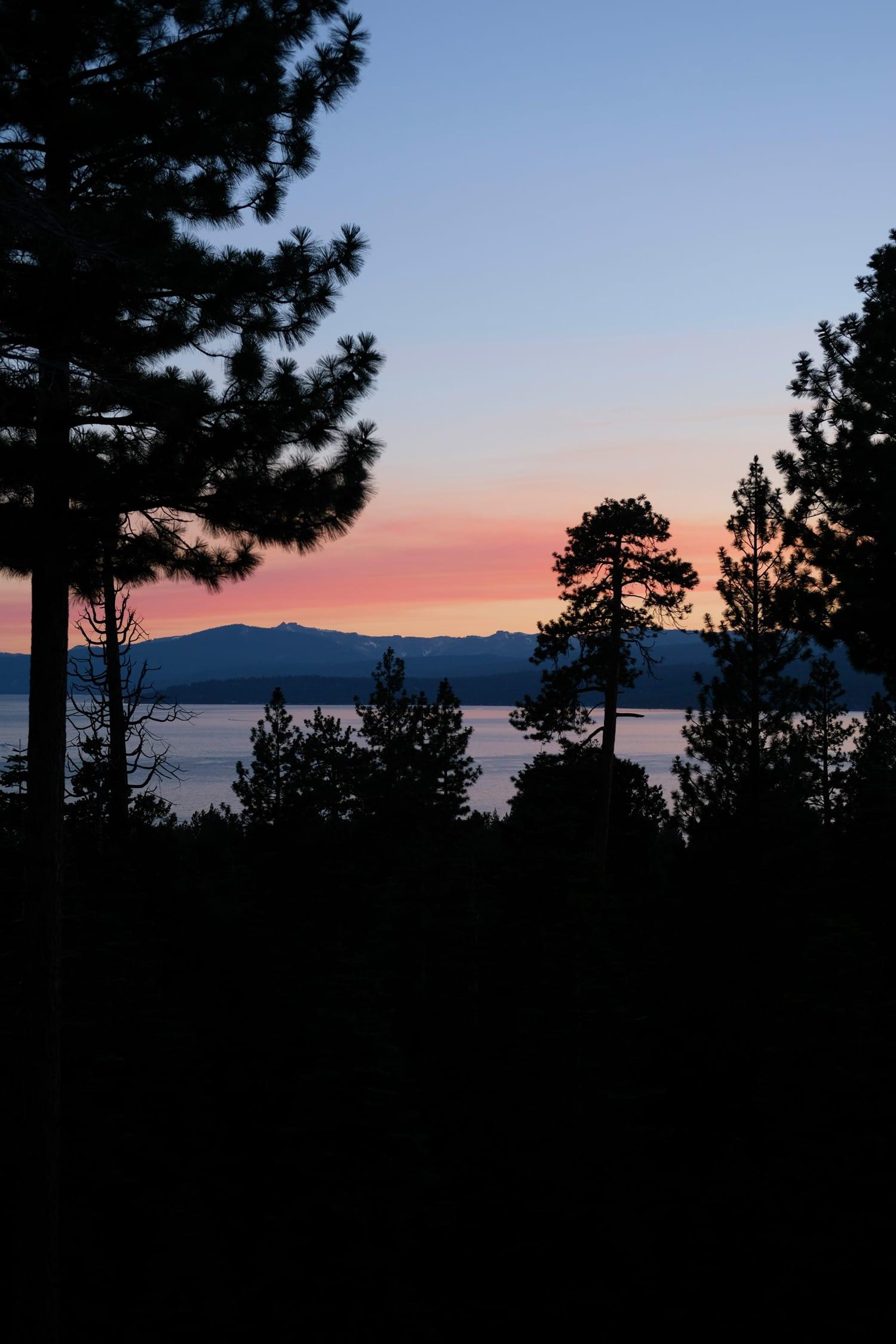 Lake Tahoe travel with kids