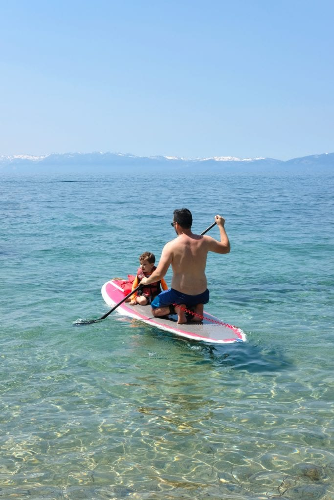 Lake Tahoe travel with kids