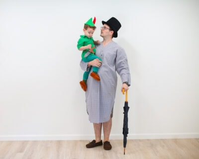Peter Pan costume DIY