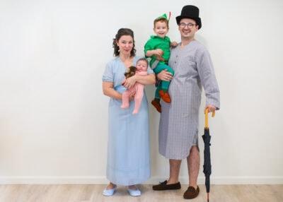 Family Peter Pan costume