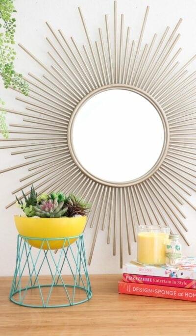 DIY Modern Bowl Planter