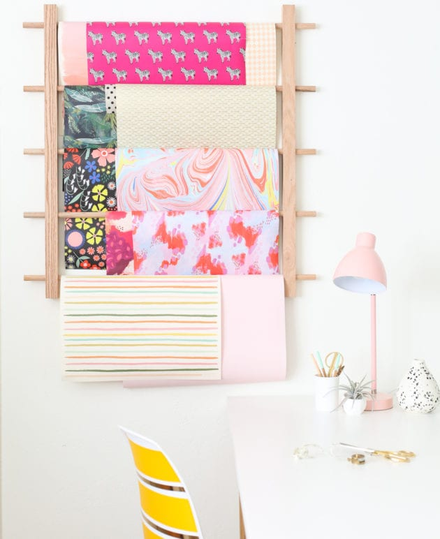 How to Make a Hanging Organizer for All Your Wrapping Paper thumbnail