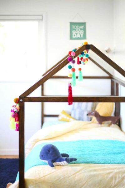 DIY IKEA Kura bed hack