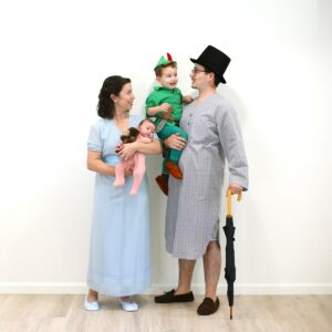 Make the Perfect Peter Pan Family Halloween Costume thumbnail
