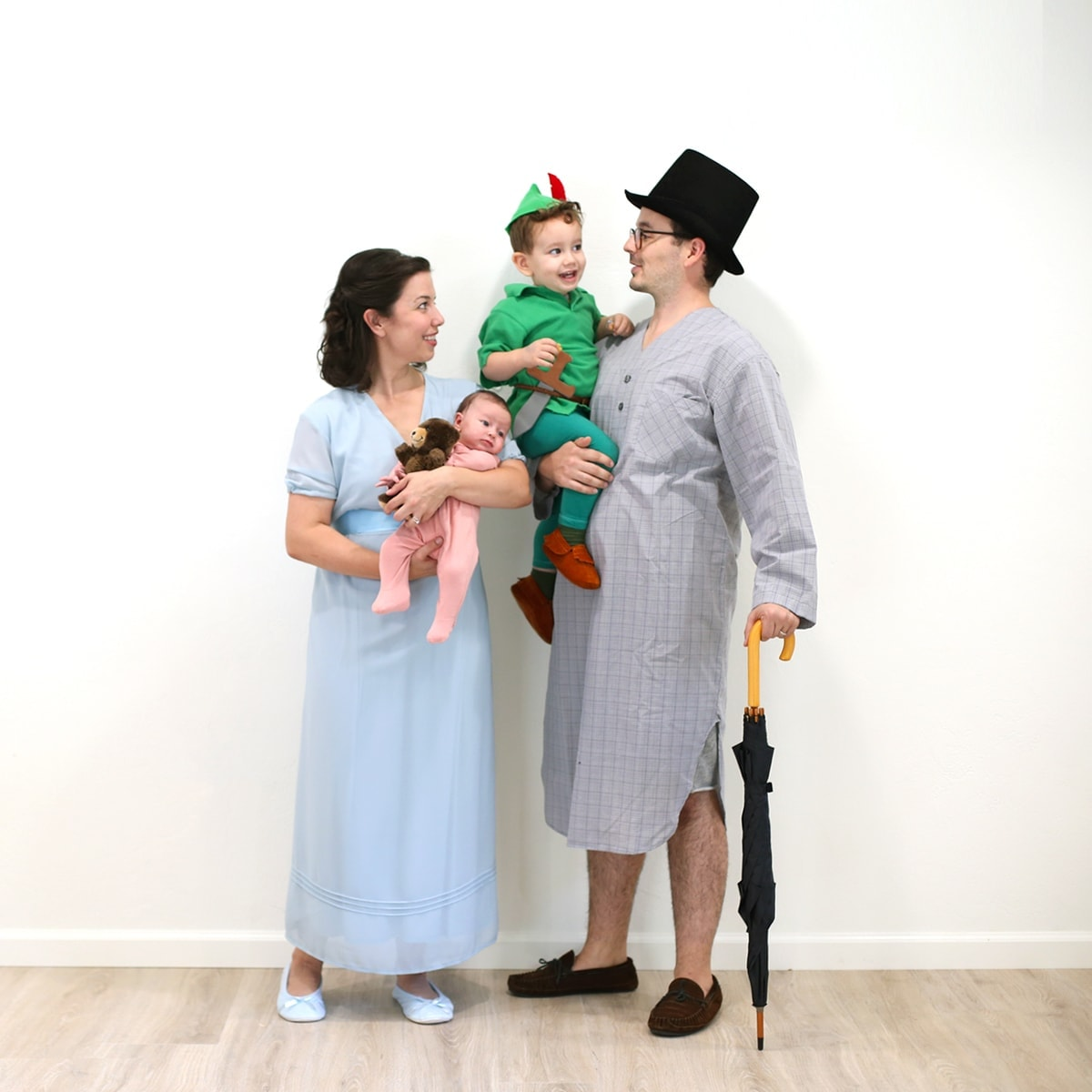 Peter Pan Family Halloween Costume