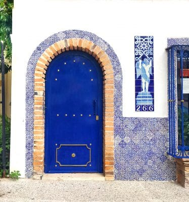 Puerto Vallarta Blue Door