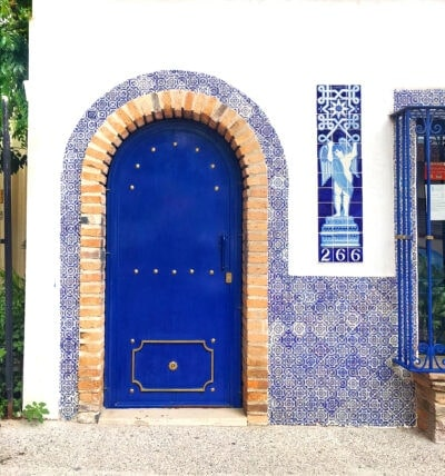 Puerto Vallarta Blue Door