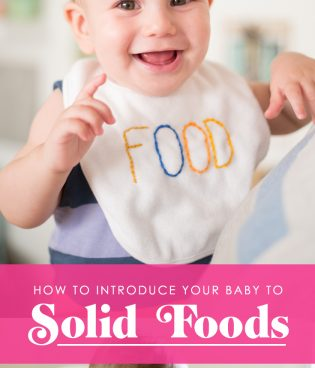 How to Introduce Your Baby to Solid Foods thumbnail