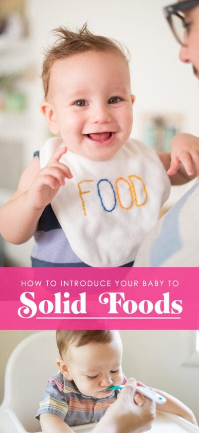 How to introduce your baby to solid foods