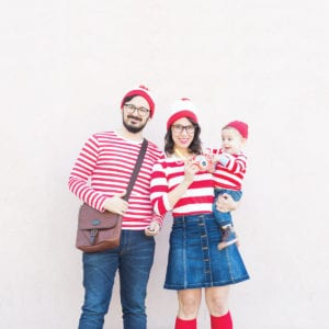 Where's Waldo Family Halloween Costumes thumbnail