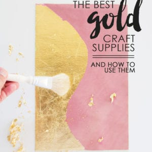 The Best Gold Craft Supplies and How to Use Them thumbnail