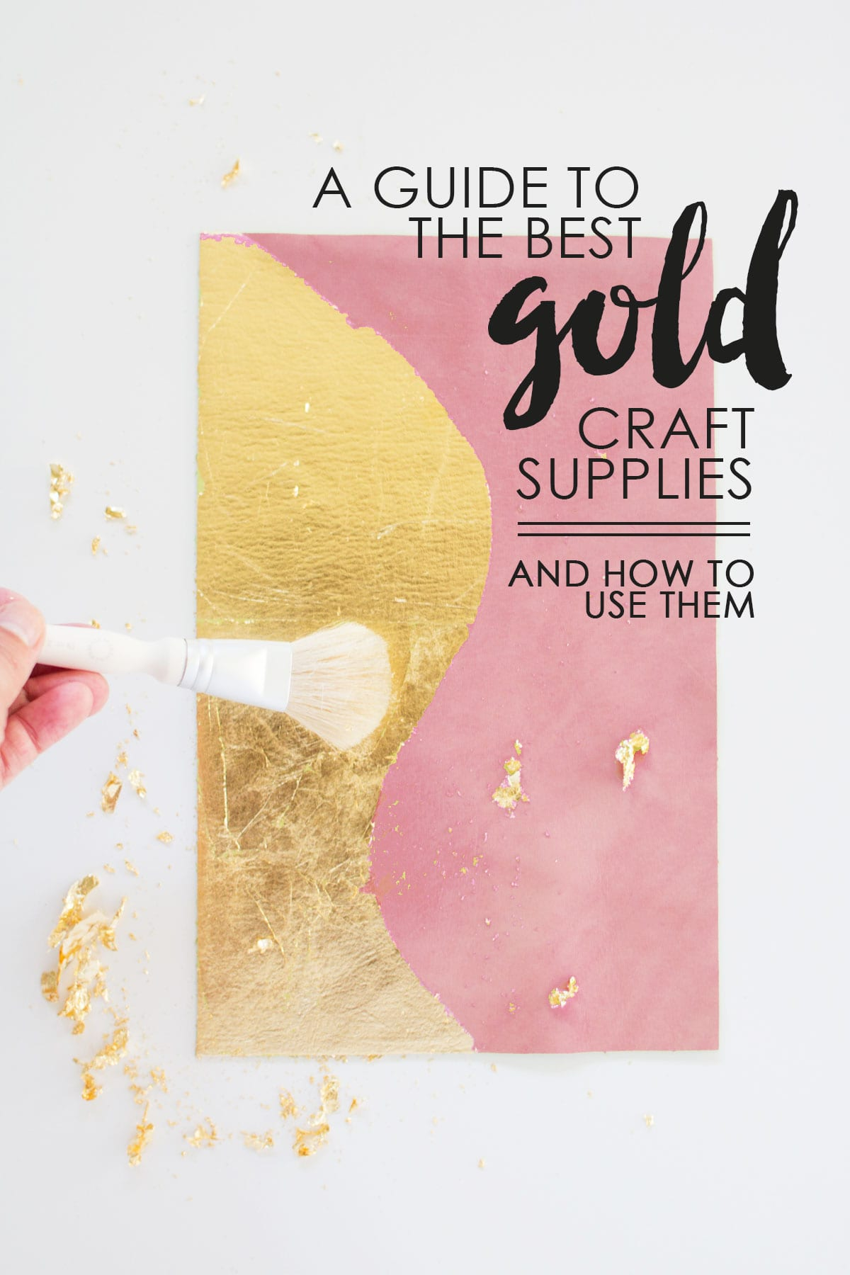 A guide to the best gold craft supplies