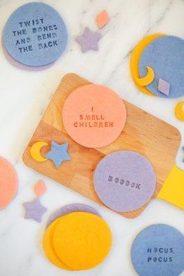 Hocus Pocus Quote Cookies