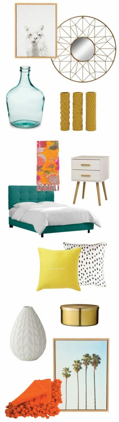 Laid back California master bedroom