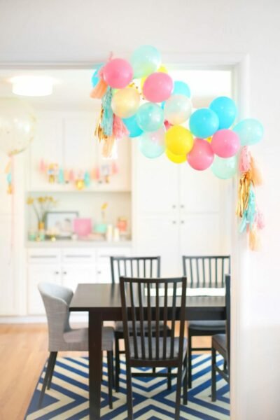 A sweet and simple 1st birthday