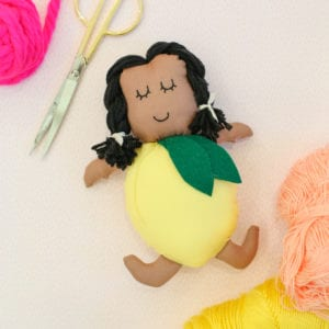 DIY Gift Idea for Kids: Make a Lemon Doll thumbnail