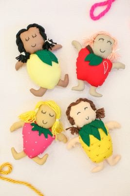 How to Make Fruit Dolls