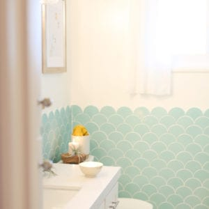 Room Reveal // Kids and Guest Bathroom thumbnail