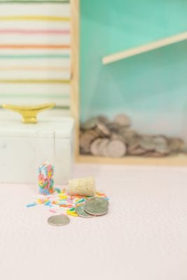 How to make a rolling coin bank
