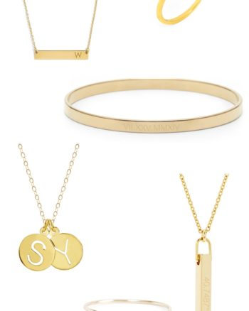 Personalized Jewelry Ideas for Moms