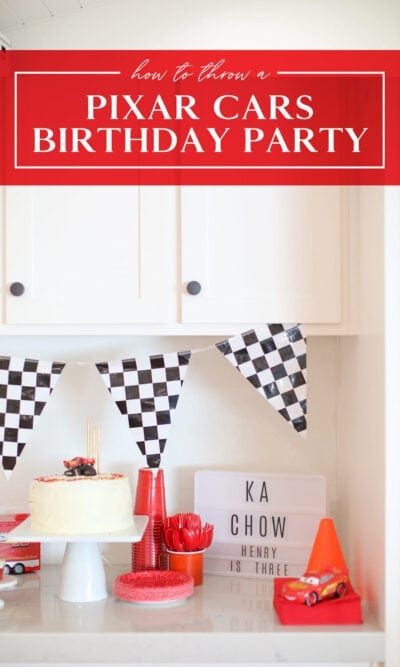 pixar cars birthday party