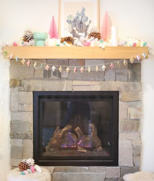 Quick and Easy DIY Ornament Garland for Your Mantel thumbnail