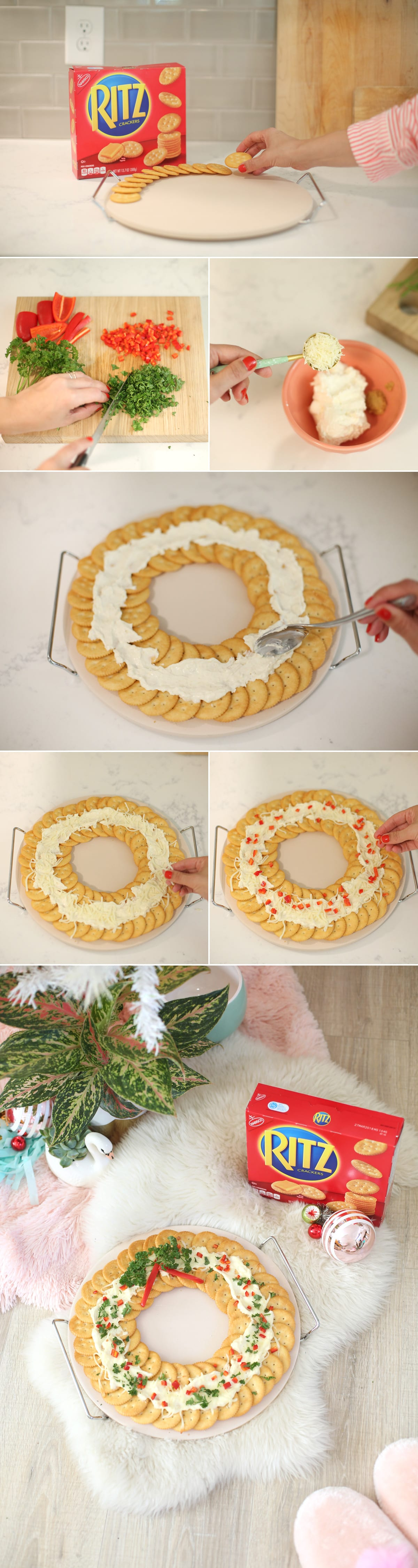 Ritz Crackers Holiday Party Snack