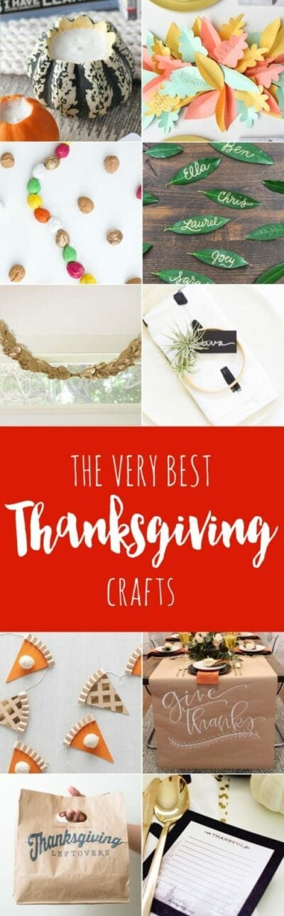 The Best Thanksgiving Crafts