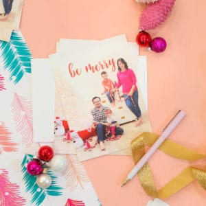 How to Photograph and Print Your Own Holiday Cards thumbnail