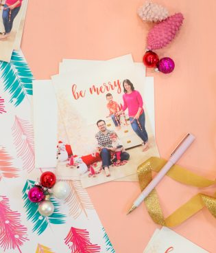 How to Photograph and Print Your Own Holiday Cards