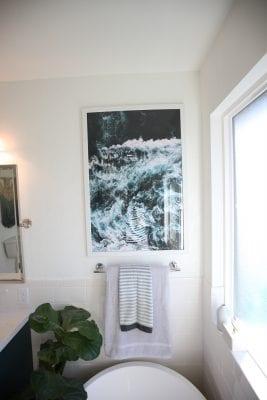 Modern, Bright Master Bathroom