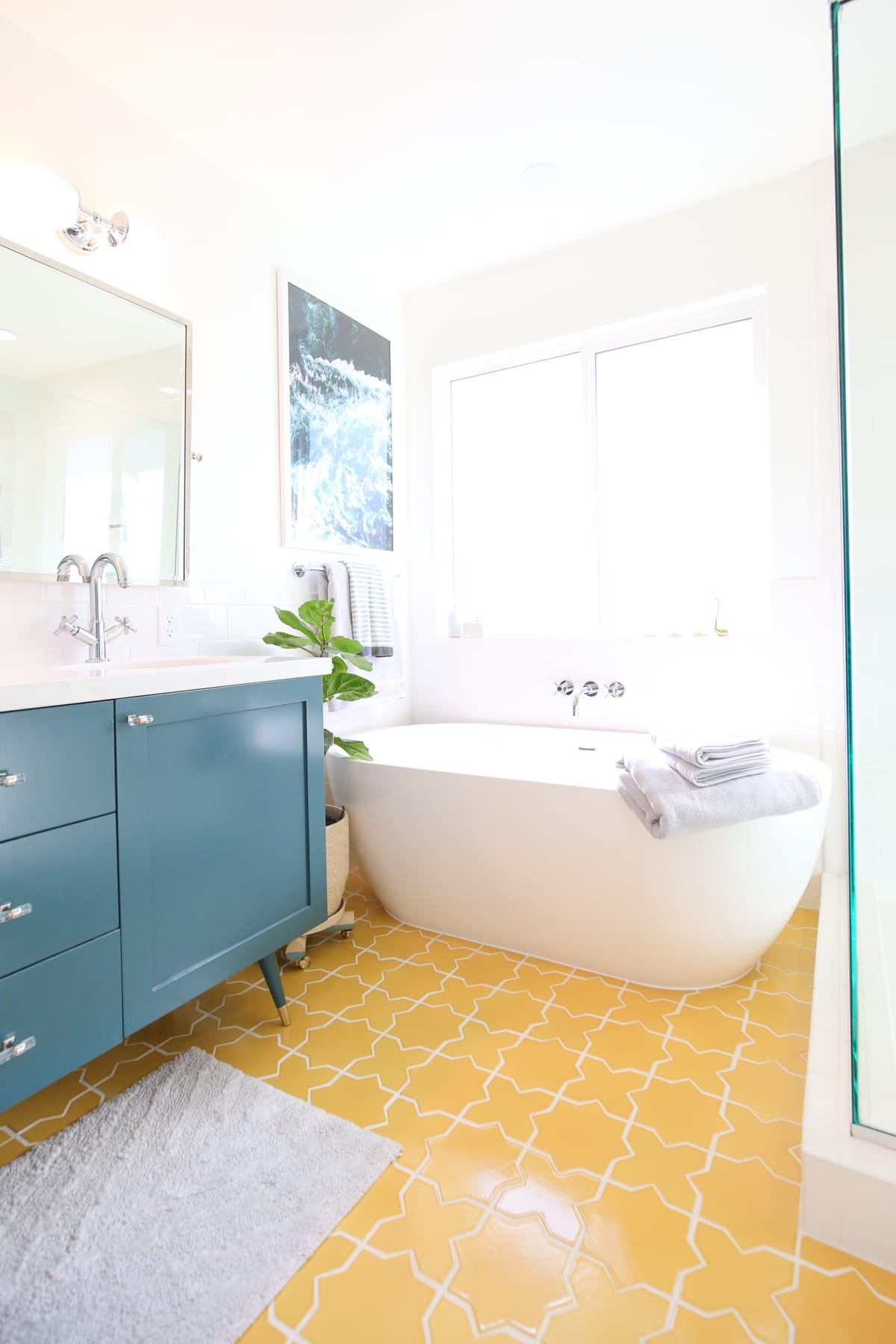 Room Reveal // New Master Bathroom | Lovely Indeed