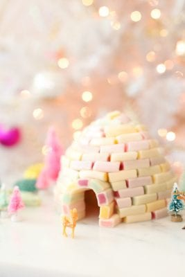 How to make a candy igloo for the holidays