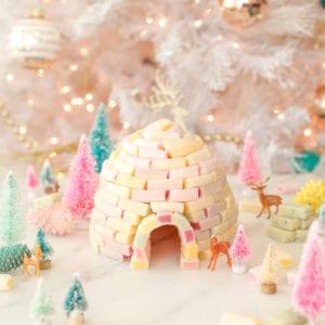 DIY Candy Igloo Holiday Decoration thumbnail