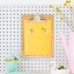 2018 Free Printable Calendar thumbnail