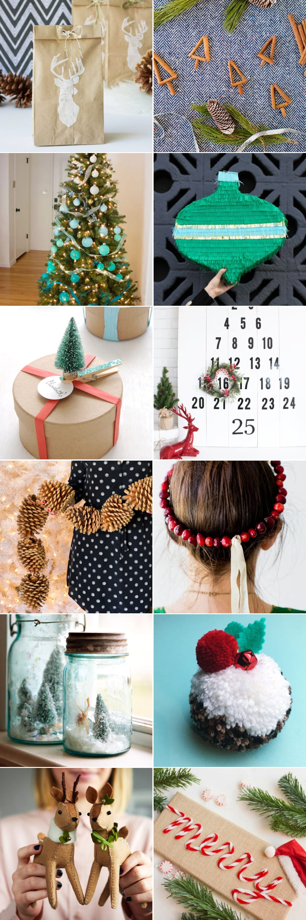 Twelve beautiful Christmas crafts to try