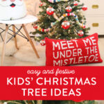 kids' christmas tree
