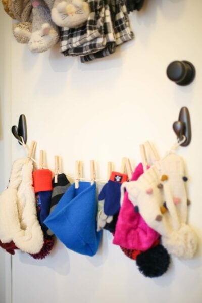 How to organize your coat closet in five minutes