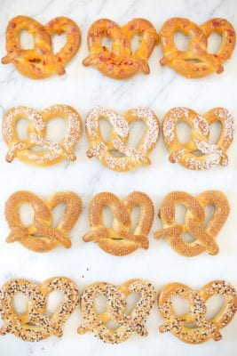 Soft pretzel recipe hacks and beer pairings for football game day