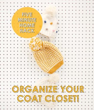 Five Minute Home Hack: Organize Your Coat Closet thumbnail
