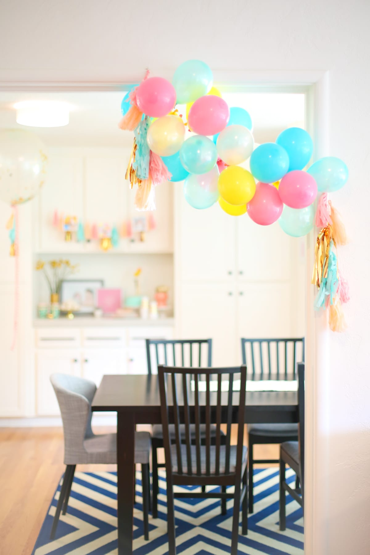 How To Make A Balloon Garland For A Birthday Party