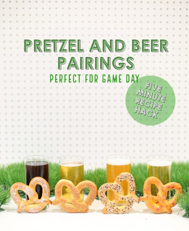 Make Your Own Pretzel & Beer Pairings for Game Day thumbnail