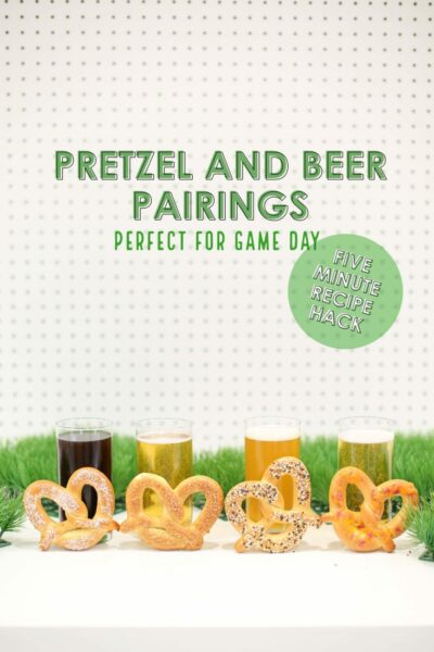 Soft pretzel Soft pretzel recipe hacks and beer pairings for football game day hacks and beer pairings for game day