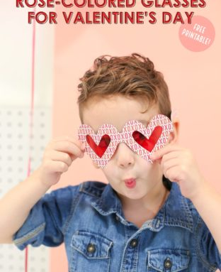 Make Rose-Colored Glasses for Valentine's Day!